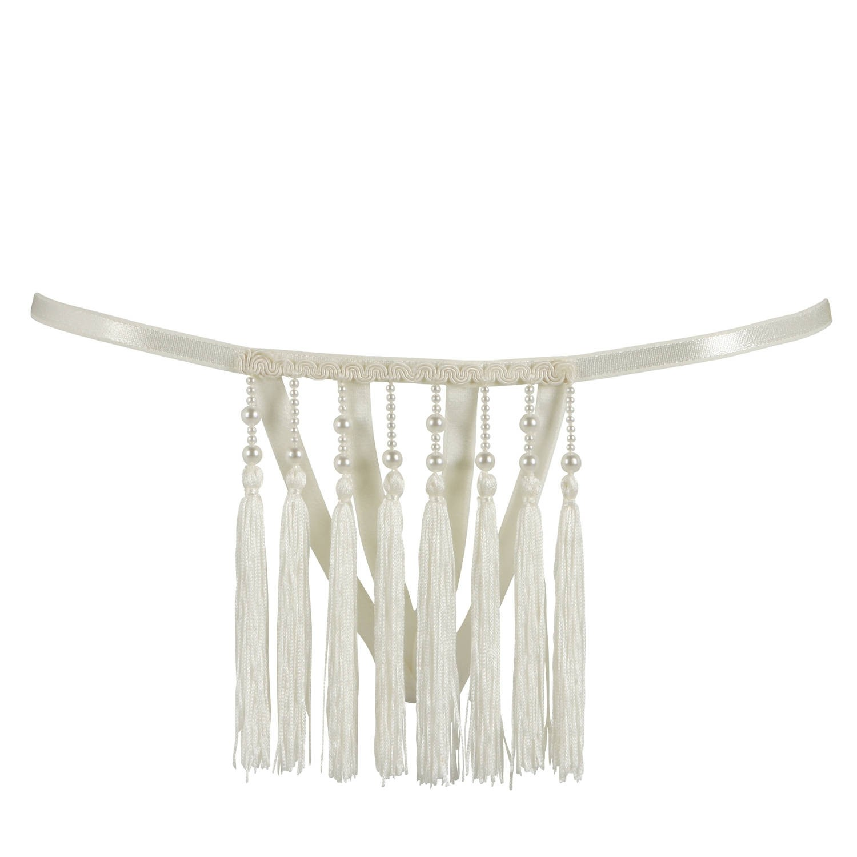 Perlen-String, vorne