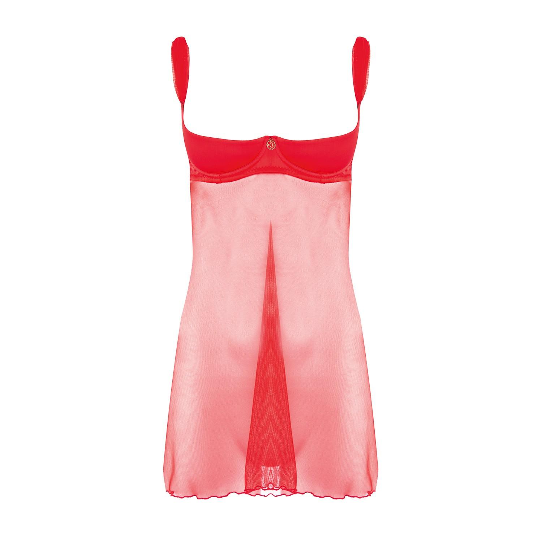 Luxus Hebe Kleid in Rot