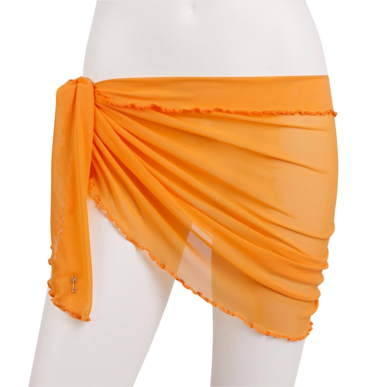 Bindetuch in Orange von Escora