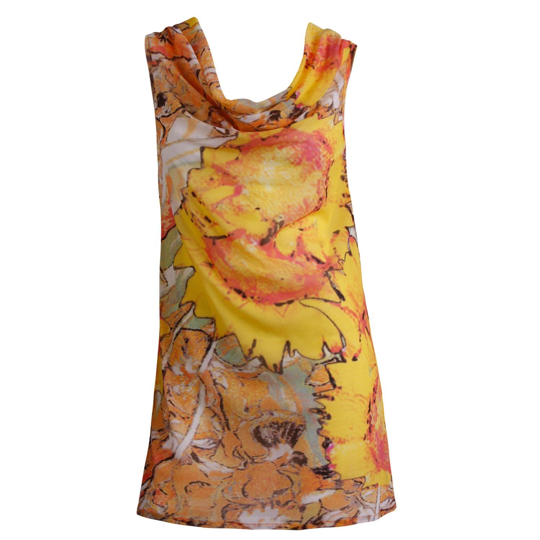 Farbenfrohes Strandkleid von Escora