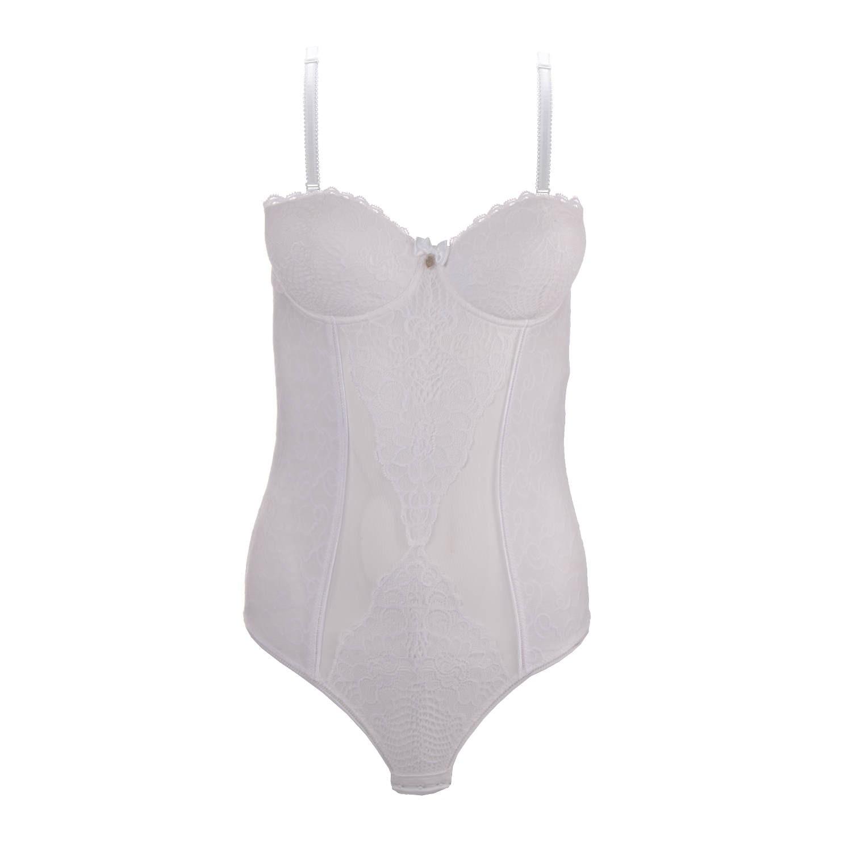Weißer Body von Coco Cavaliere / Escora