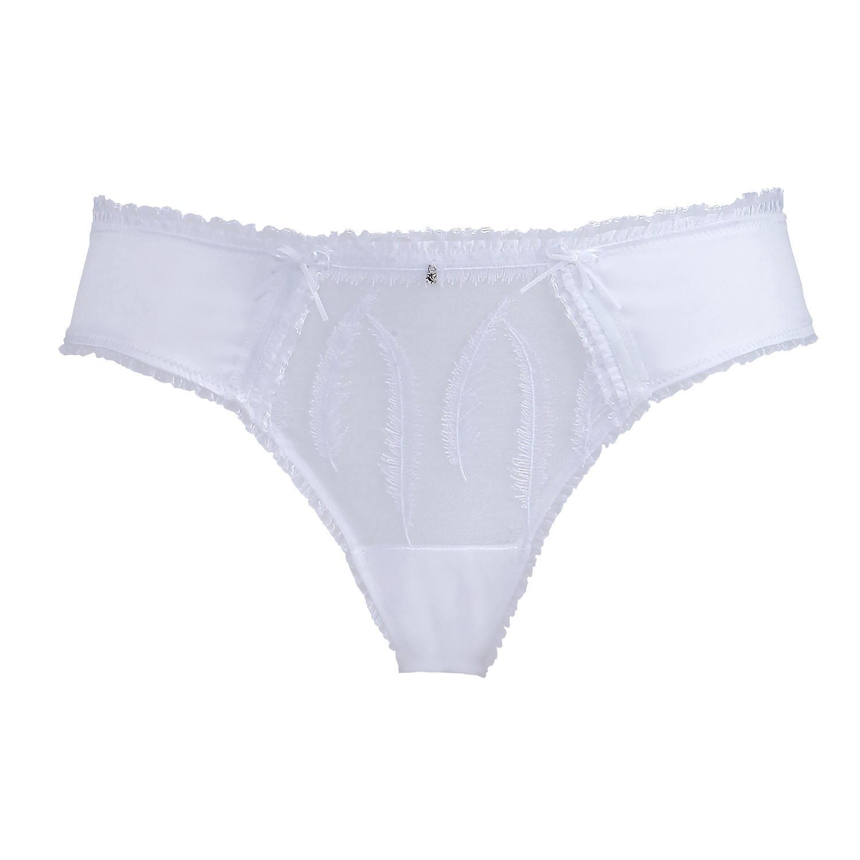 Luxus Slip in Weiß von Escora