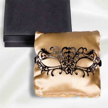 "Venezianische Maske ""Nicole"" in der Diamor Geschenkbox"