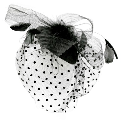 Fascinator, vorne