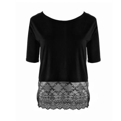 Shirt mit Spitze von Mademoiselle Coco Cavaliere / Escora