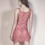 Kleid, hinten