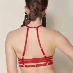 Bügel BH mit verstellbaren Bändern, hinten