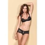Celina Luxus Dessous Set 2: Hebe BH und Panty Ouvert