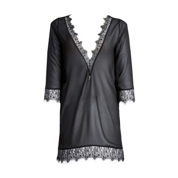 E257 Aurora Seductive long sleeve blouse